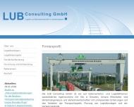 Bild Webseite LUB Consulting Dresden