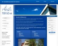 Bild Webseite Wolf & P. Dresden