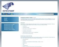 Bild Webseite INTERPONT Business Consulting Dresden