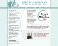 Bild Webseite Riegel & Partner Dresden