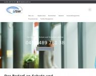 Website Gesellschaft für Sicherheit und Wachschutz