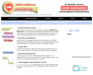 Website Schlüsseldienst Gelsenkirchen