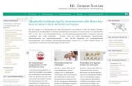 Bild Webseite ETL-Gruppe Berlin