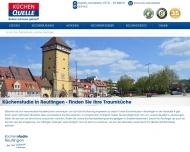 Bild Webseite Küchen Quelle MegaStore Reutlingen Reutlingen