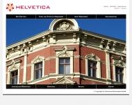 Bild Webseite Helvetica Deutschland Berlin
