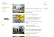Bild Webseite Hager Partner Berlin