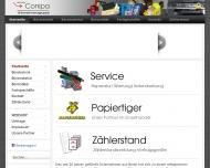 Bild Webseite Conipa Bürosysteme Berlin