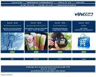 Bild Webseite Agentur visucom Berlin