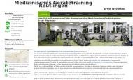 Bild Webseite Medizinisches Gerätetraining Ernst Weymann Reutlingen