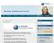 Website Kämmer Consulting