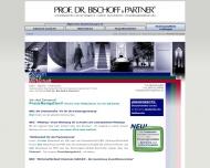 Bild Webseite Prof. Dr. Bischoff Unternehmensberatung Köln