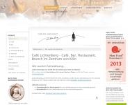 Caf Lichtenberg, K?ln - Willkommen