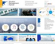 Bild Webseite Struktur Management Partner Köln