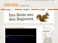Bild Webseite Emons Verlag Köln