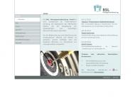 Bild Webseite BSL Managementberatung Köln