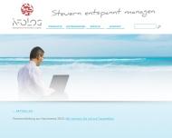 Bild Webseite Infolog Köln