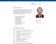 Bild Webseite Citigate Demuth Werbe- und PR-Agentur GWA Frankfurt
