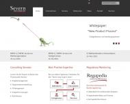 Bild Webseite Severn Consultancy Frankfurt