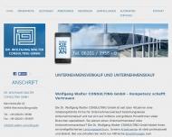 Bild Dr. Wolfgang Walter Consulting GmbH
