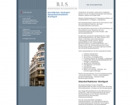 Website B.I.S. Betriebswirtschaftliche Beratungsgesellschaft