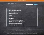 Bild Webseite GFW Ges. für Führungspraxis in der Wirtschaft Dr. Scharlowski Stuttgart