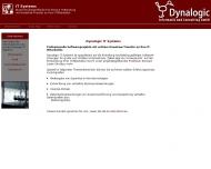 Bild Webseite Dynalogic, Informatik und Consulting München
