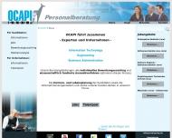 Bild Webseite Ocapi Group München
