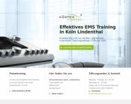 Bild Webseite Körperformen Köln