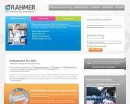 Website Rahmer Dienstleistungen