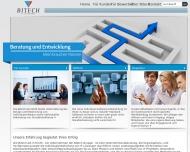 Bild Webseite Bitech Nürnberg