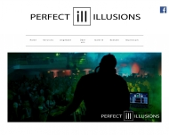 Website Perfect Illusions Veranstaltungstechnik