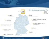 Bild Webseite COMPAC Voss & Schild Assekuranzmakler Berlin