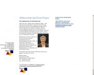 Bild Webseite Rune Finanz Berlin