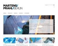 Bild Webseite Martens & Prahl Versicherungskontor Berlin