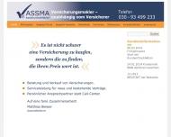 Bild Webseite AssMa Berlin