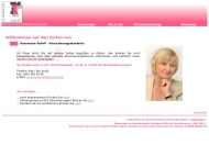 Bild Webseite Rosemarie Roloff Versicherungsmaklerin Berlin