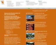 Bild Webseite SCM - Sport-, Consult- & Marketing Köln