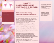 Website Pretty-Flamingo Waxing & sugaring