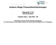 Bild Andere Wege Finanz- und Versicherungsmakler GmbH