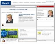 Allianz Generalvertretung Astrid Gl?senkamp Allianz Versicherungsagentur Oestrich-Winkel