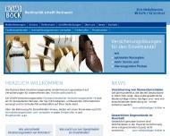 Bild Webseite Boeck Versicherungsmakler München