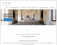Bild Webseite AFM München
