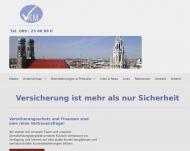Bild Webseite VKM Versicherungskontor München