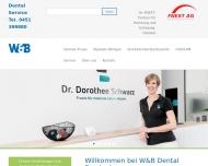 Website W&B Dental Service