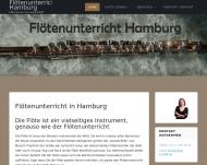 Website Flötenunterricht bei Lisa Butzlaff