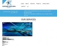 Website concept zero one