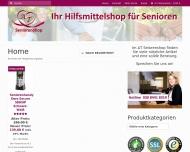 Bild Webseite AT Seniorenshop Berlin