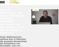 Bild Webseite Elektro Notdienst München München