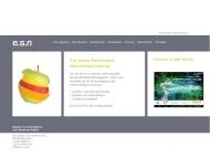 Website e.s.n. Werberealisation