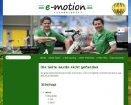 Website e-motion e-Bike Welt Nürnberg West